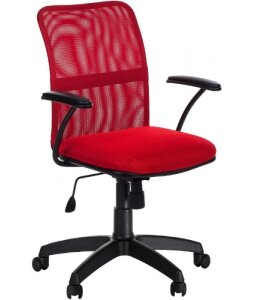 Кресло Форум (красная сетка)